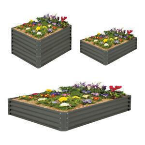 Galvanised Steel Raised Garden Beds Planter Kit 3 Sizes