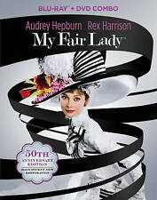 My Fair Lady Blu-ray/DVD 3-Disc Set 50th Anniversary Edition BRAND NEW SEALED
