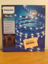 Philips 15ft Flat Rope - Blue *DISTRESSED PACKAGING*