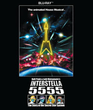 Daft Punk: Interstella 5555 Blu-Ray (2011) Daft Punk cert E ***NEW***