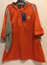 Men's Mizuno Team Wear Batting Practice Jersey Orange/Gray (Sz: XL) NEW NWT