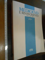 LIBRO:ANNUARIO DIP STUDI FIRENZE Medioevo e Rinascimento - XIV/ n.s. XI (2000)