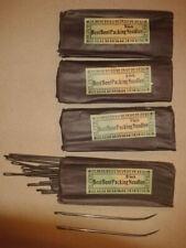 Sattler Netz Dachbodenfund Fischer Sacknadel Päckchen Packnadel