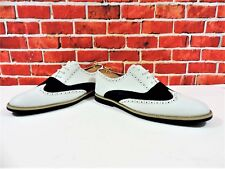 Kurt Geiger Navy Suede and white leather brogues Lace-up UK 9 US 10 EU 43
