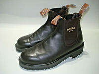 R.M. WILLIAMS UNISEX SIZE 6 DK BROWN SLIP ON BOOTS EXCELLENT LIKE NEW FREE POST
