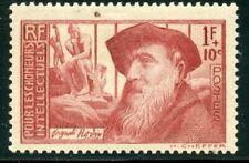 Timbres neuf avec trace de charnière avec 1 timbre
