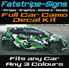 CAR CAMO KIT VINYL GRAPHICS STICKERS DECALS BONNET ROOF VAUXHALL CORSA ASTRA VXR