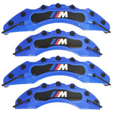 4x Blue BMW M Brake Caliper Cover Front Rear Power Rim Wheel Set Car Series