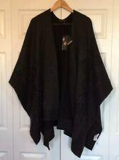 NWT Rachel Zoe reversible oversized shawl/cape OS