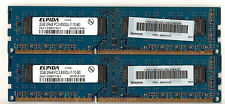 Lot de 2 barrettes ELPIDA 2GB DDR3 1066 soit 4GB DDR PC3-8500 CL7