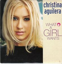 CD SP 2 T CHRISTINA AGUILERA *WHAT A GIRL WANTS*