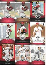 (24) TOPPS TRIPLE PLAY SERIAL # CARDS,   ST.LOUIS CARDINALS  BROCK, GIBSON++++++