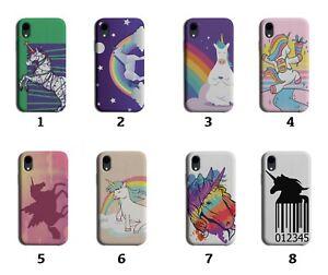 Girly Unicorn Phone Case Cover Girls Womens Unicorns Colourful Horse Pony 8092 E