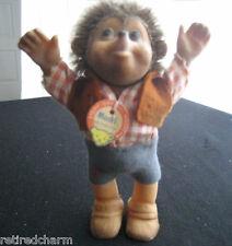 "❤VINTAGE ~STEIFF MACKI BOY~ Hedgehog 5"" ~1968-1999~ 7627/12 RARE collector item❤"
