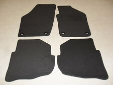 VW Polo 2004-2009 Fully Tailored Deluxe Car Mats in Grey with Grey Trim