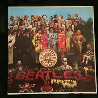 The Beatles Sgt. Pepper's Lonely Hearts Club Band MAS-X-1-2653 First Press VG+