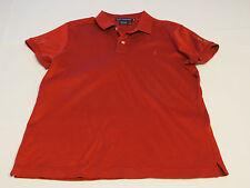 Ralph Lauren Golf Polo womens shirt top M dk red Seminole pre owned EUC@