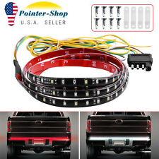 "60"" 5-Function Flexible LED Strip Tailgate Bar Truck Brake Reverse Signal Light"