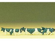 Preiser 88575 Kühe schwarz-weiß 7 Figuren Kuh schwarzbunt Kuhherde Z Neu