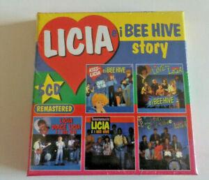 Cristina D'Avena / LICIA E I BEE HIVE STORY / BOX 5 CD / Edel / SIGILLATO