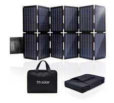 TP-solar 100W Foldable Solar Panel Charger Kit for Portable Generator Power