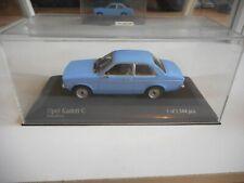 Minichamps Opel Kadett C in Pastelblue on 1:43 in Box