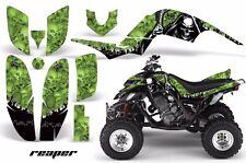AMR Racing Yamaha Raptor660 Graphic Kit Wrap Quad Decals ATV 2001-2005 REAPER G