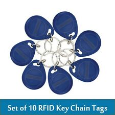 10pcs/lot RFID Keyfobs Keychain Tags for Time Attendance / Access Control System