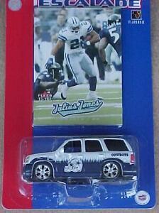 Dallas Cowboys Cadillac Escalade Fleer Julius Jones Card New In Pack NFL