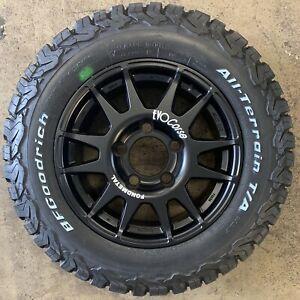 "EVO Corse DakarZero 18"" Land Rover Defender Alloy Wheels & BFG Tyres x4"