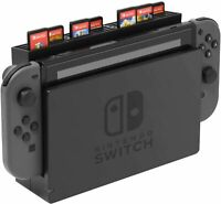 Nintendo Switch Game Console Storage with 28 Game Card Slots Card Holder