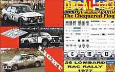 DECAL 1/43 FIAT 131 ABARTH MAKINEN/ SALONEN/ LAMPINEN RAC 1977 (LIGHT) (02)