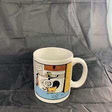 The Far Side Cat Fud  Dryer Trap Coffee Cup Mug 1985