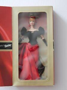 NRFB 1998 Avon Exclusive WINTER SPLENDOR Barbie Doll w/ Stand -