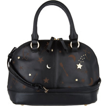 NWT Tignanello Leather Andromeda Mini Dome X-Body, Etched Black MSRP: $169.00