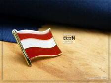 Austria badge Country Flag Lapel Hat Cap Tie Pin Badge  --20mm*15mm.