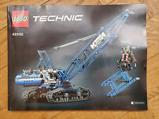 Lego 42042 - Technik Raupenseilzugkran
