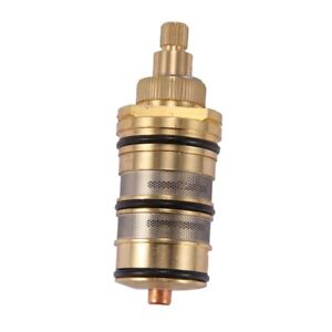 Brass Bath Shower Thermostatic Cartridge&Handle for Mixing Valve Mixer Shower