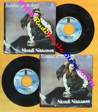 LP 45 7'' SHANDI SINNAMON Rainbow in my heart Be easy 1976 italy no cd mc dvd