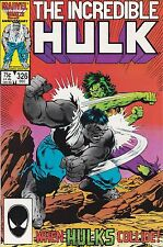Incredible Hulk #326. VF+. 1986