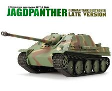 1:16 German Jagdpanther RC Tank Remote Control Airsoft With Smoke & Sound New