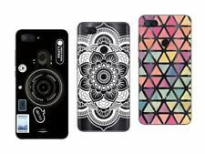 3 Coques pour Xiaomi Mi 8 Lite - Souples et Résistantes Anti Choc avec motif