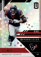 2018 Panini Unparalleled Football Astral Parallel Singles (Pick Your Cards)