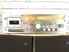 Panasonic RA-6700 Receiver W Cassette Recorder 2 Phono Inputs Pro Restored Nice