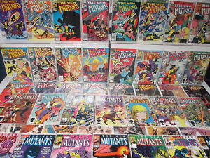 1982 New Mutants 1-100 & Marvel Graphic Novel 4 Deadpool 98 Cable 87 Complete