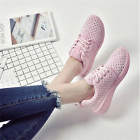 Womens Breathable Fashion Trainers Creepers Sneakers Casual  Comfy Sports Shoes