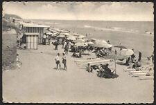 cartolina PORTO POTENZA PICENA spiaggia
