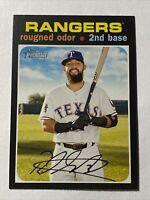 2020 Topps Heritage Baseball Rougned Odor Texas Rangers Card #38