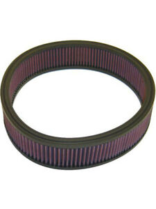 K&N Round Air Filter FOR PLYMOUTH PB300 360 V8 CARB (E-1530)