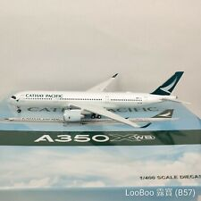 JC Wings Cathay Pacific Airbus A350-941 B-LRA 1:400 Diecast Model